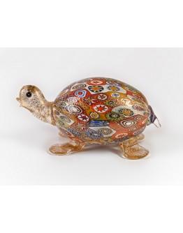 Фигурка Черепаха миллефиори