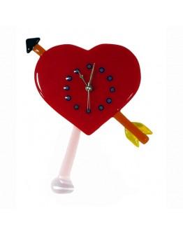Часы Сердце настенные