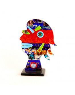 Скульптура Голова женщины