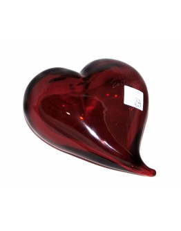 Скульптура Сердце красное