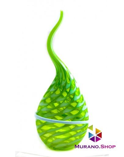 Ваза Капля зеленая