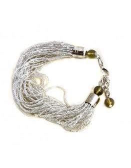 Браслет из 36 Венецианских бисерных нитей