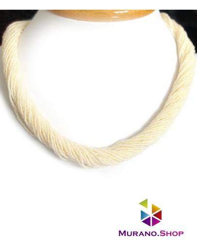 Бисерное Венецианское ожерелье 36 нитей
