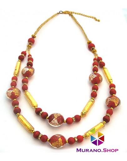 Ожерелье двойное