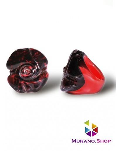 Кольцо Роза люме