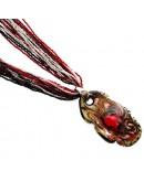 Подвеска Диадема Око - ожерелье из Венецианского бисера